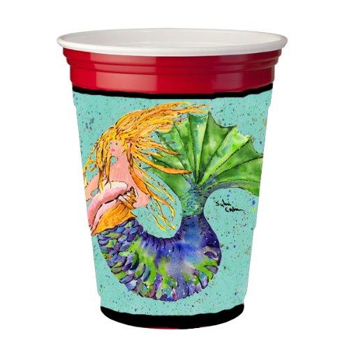 Mermaid Blonde Mermaid Red Solo Cup Hugger