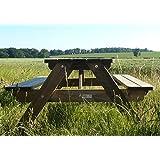 Heavy Duty Picnic Table - Child Friendly - FSC(R)100% - 10 Year Guarantee