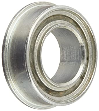 "RBC Heim Ball Bearing  RF122214P  Flanged, Single Sealed, 0.750"" Bore, 1.375"" OD, 0.438"" Width"
