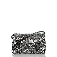 Carina Shoulder Bag<br>Silver Diamondback