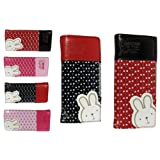 New Pretty Rabbit Wallet Purse. Available in Black, Red, Pink and Light Pinkby Lady Isla Fashion