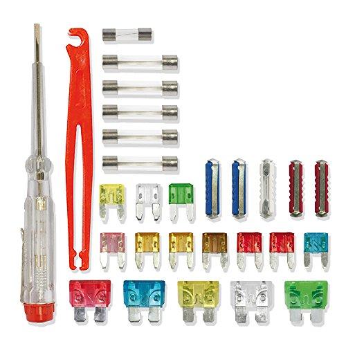Cora 000120777 Kit Emergenza Fusibili, 28 Pezzi, Assortiti