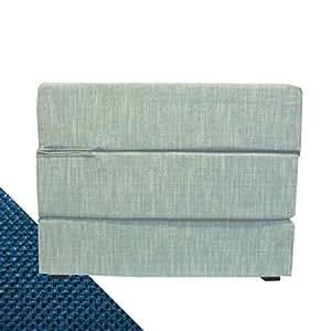 Arketicom touf le lit qui se transforme en un pouf avec for Bureau qui se transforme en lit