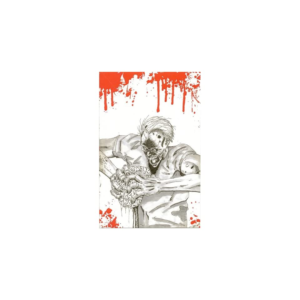 Zombie Themed Valentines Day Card Youre On My Mind