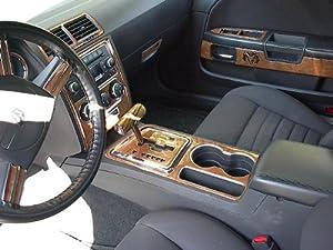 Dodge challenger interior burl wood dash trim - 2010 dodge charger interior trim ...