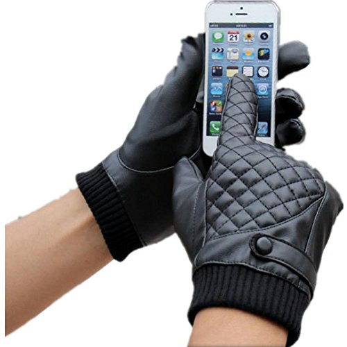 jqam-autunno-inverno-uomo-pu-pelle-lattice-touchscreen-guanti-guida-allaperto-ciclismo-antivento-isp