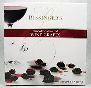 Bissinger's Chocolate Covered Wine Grapes 8 oz.