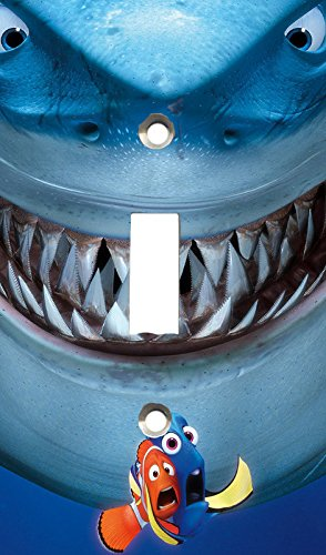 Got You Covered Fish Are Friends, Not Food Bruce Finding Nemo Light Switch Cover or Outlet (Shark Light Switch compare prices)