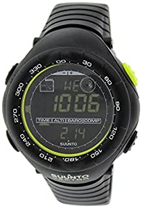 Suunto Vector Wristop Computer with Compass, Altimeter & Barometer,One Size,Black/Lime