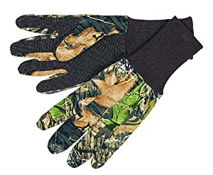 Allen Company Jersey Gloves with Dot Grip and Long Knit Cuffs