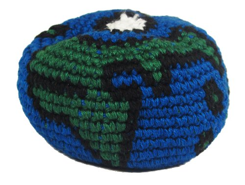 Hacky Sack - Blue and Green World