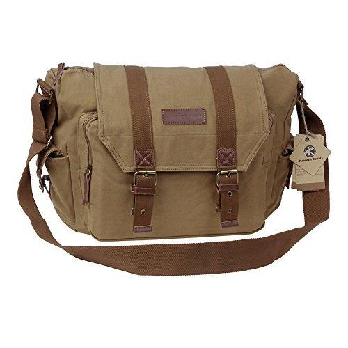 Koolertron Canvas Camera Shoulder Bag