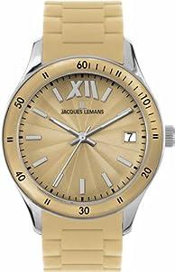Jacques Lemans Sports Damen-Armbanduhr Rome Sports Silikon 1-1623M
