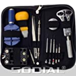 SODIAL(R) Watch Repair Tool Kit - 13...