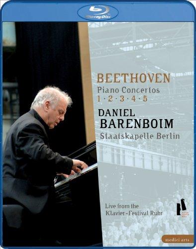 کنسرتو پیانو بتهوون رهبر ارکستر و نوازنده پیانو : دانیل بارنبویم Daniel Barenboim