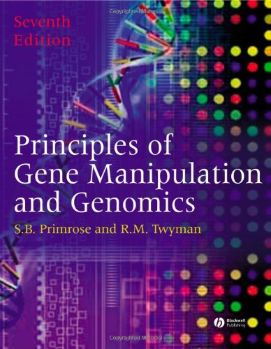 Principles Of Gene Manipulation And Genomics