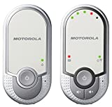 Motorola MBP 11 - Baby Monitor Audio Digitale con Modo Eco, Bianco