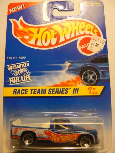 Hot Wheels Race Team Series III #2 or 4 Chevy 1500 3 Spoke Wheels #534 - 1