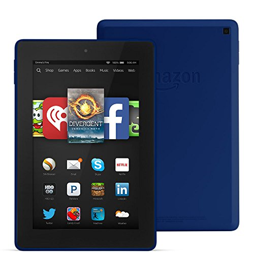 Sale!! Fire HD 7, 7 HD Display, Wi-Fi, 8 GB - Includes Special Offers, Cobalt