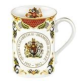 #7: Royal Worcester Diamond Jubilee Mug