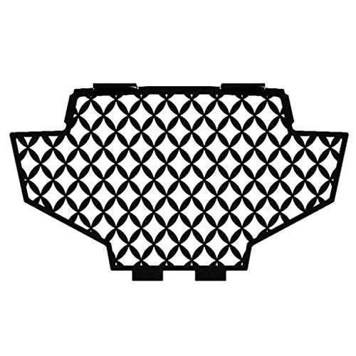 Mesh Black Powdercoat Radiator Cover Grill Guard fits: 2011-2014 Polaris RZR 800 - Ferreus Industries - GRL-141-11-Black (2011 Rzr Grill compare prices)