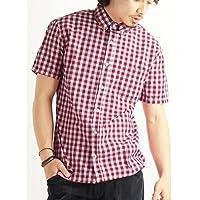 (バレッタ) Valletta 4color ブロードギンガムチェック柄半袖シャツ