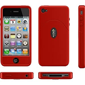 Ivyskin Wrangler for iPhone 4- Raz Red