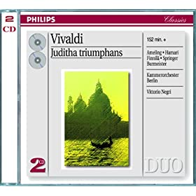 "Vivaldi: Juditha Triumphans, R.644 / Pars prior - ""O servi volate"" (Alternative version)"