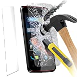 ( Pack Of 1 ) Acer liquid E3 Case Brand New Tempered Glass Crystal Clear LCD Screen Protectors Packs With Polishing Cloth & Application Card by Fone-Case