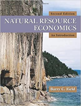 natural resource economics an introduction barry c field pdf