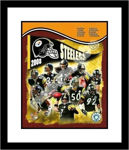 2008 Pittsburgh Steelers Team Composite NFL Framed 8×10 Photograph – CLOSEOUT SPECIAL