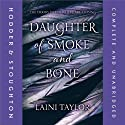 Daughter of Smoke and Bone Audiobook by Laini Taylor Narrated by Khristine Hvam