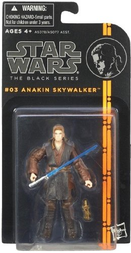 "Star Wars the Black Series Anakin Skywalker in Stock (3 3/4"" Inch) 2013 03"