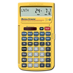 estimating calculator