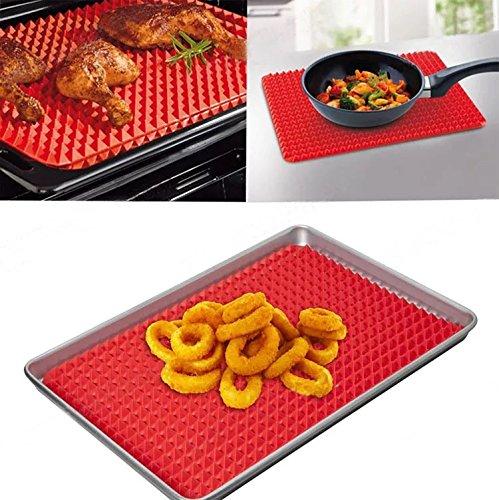 pyramide-en-silicone-anti-adhesif-cuisson-saine-resistant-a-la-chaleur-tapis-de-cuisson-rouge