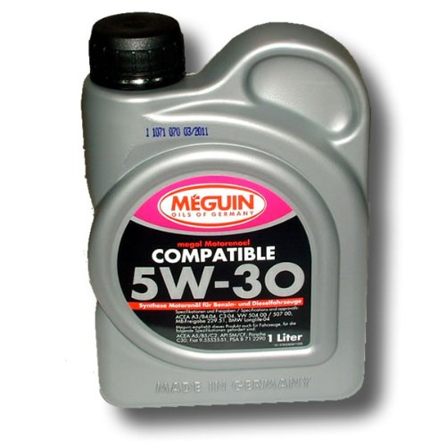 Motoröl Megol 1 Liter 5W-30 Compatible Meguin-Germany