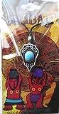 Blue Stone Tribal Pendant Amulet Necklace Talisman