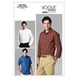 Vogue Patterns V8759 Size MUU 34-36-38-40 Men's Shirt