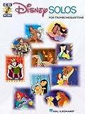 Disney Solos (Baritone / Trombone) - Instrumental Folio - Bk+CD