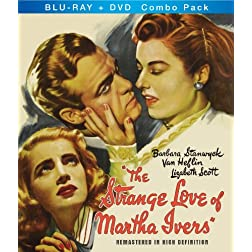 Strange Love of Martha Ivers Blu-Ray + DVD Combo Pack