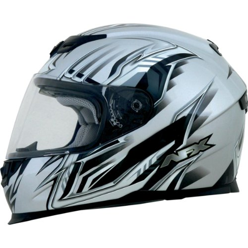 AFX FX-120 Multi Full Face Helmet Silver XL/X-Large