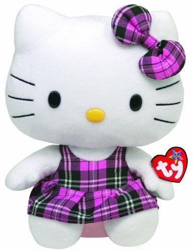 Imagen de Ty Beanie compinche Hello Kitty Tartan Trajes de Plaid