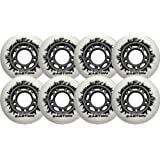 68MM 84A EASTON ROLLER HOCKEY Inline Skate Wheels 8 Pack by TGM Skateboards