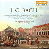 Bach, J.C.: Symphonies in D Major / E-Flat Major / G Minor / G Major