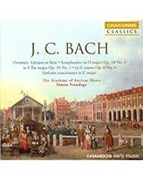 Bach, J.C.: Symphonies in D Major / E-Flat Major / G Minor / G Major
