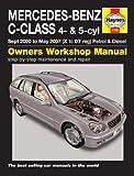 Mercedes C-Class C160 C180 C200 C220 C230 C270 & C200 C220 C270 CDI Avantagrde Classic Elegance SE Petrol & Diesel 1998 - 2004 Haynes Manual