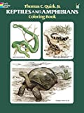 img - for Reptiles and Amphibians Coloring Book book / textbook / text book