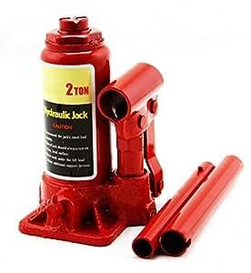 FABTEC Riaan/Leo Heavy Duty Hydraulic Bottle Jack (Colour May Vary) For Maruti SX4