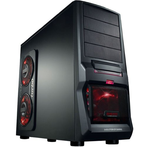 GAMING PC AMD FX 4100 Quad Core 4x3,6GHz - Asus Motherboard - 2xUSB3.0 - 1000GB HDD - 16GB DDR3 (1333 MHz) - DVD Writer - Grafik GeForce GTX650 (1024MB DDR5-VGA-DVI-HDMI-DirectX 11) - Audio - 6xUSB 2.0 - LAN - 650W - Cardreader - Wireless LAN (USB/150MBit) - 1xeSATA - 3xLED Fan - Windows7 Home Premium 64Bit English (incl.DVD u.Lizenzkey) - COMPUTER