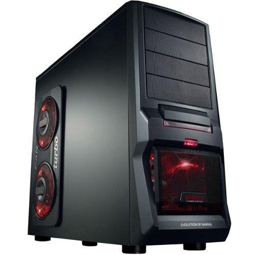 GAMER PC AMD FX4100 Bulldozer Quad Core 4x3,6GHz - Asus Mainboard - 500GB HDD - 8GB DDR3 (1333 MHz) - DVD Brenner - Grafik GeForce GT630 (1024MB DDR3-VGA-DVI-HDMI-DirectX 11) - Audio - 6xUSB 2.0 - LAN - 650W - Kartenleser - WLAN - 1xeSATA - 3xLED Lüfter - Windows7 Home Premium 64Bit (inkl.DVD u.Lizenzkey) - COMPUTER